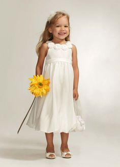 Love the idea of jazmine (the flower girl/step-daughter) throwing the flowers and have the other flower girls (neices) walking behind her holding a large flower.