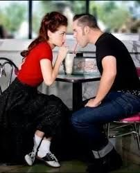 Image result for 50's couple photoshoot