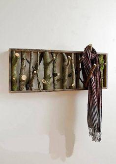 Idee fai da te per arredare con rami e tronchi (Foto 5/40) | Donna Nanopress