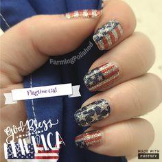 Patriotic Images, Liquid Nails, 4th Of July Nails, Fall Nail Designs, Business Pages, Nail Shop, Color Street Nails, Cute Nails, Farming