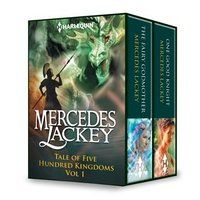 I guess one of the reasons I don't get as many books out as I should is that I read, a lot. One author I have stumbled across recently is Mercedes Lackey, and I have no idea why I haven't found her before this. I'm reading her 'A Tale of Five Hundred Kingdoms' series and find them delightful! They are fantasy with romances in them but the plots are really good, lots of twists and turns, and the places truly fantastical. So far they have all had happy endings, which I like. I hate paying to…