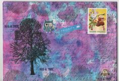 Mail art by Pikkis of ATC's For All Click to view original