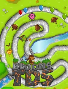 Bloons Tower Defense 5.   From NinjaKiwi, a totally revamped Bloons tower defense edition. Bye-bye productivity!