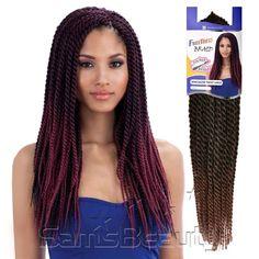 "FreeTress Synthetic Hair Crochet Braids Senegalese Twist Large ..."""
