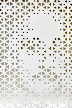 perforated back-lit panels. - Google Search