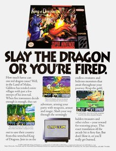 King of Dragons is a side scrolling hack and slash game with light RPG elements. It's kind of a predecessor to the more popular Knights of the Round. A port for the SNES was released in 1994, but its a bit of a downgrade from the arcade game.