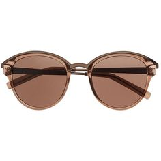 Witchery Justine Sunglasses (£22) ❤ liked on Polyvore featuring accessories, eyewear, sunglasses, glasses, nose bridge glasses, lens glasses, round frame glasses, round lens sunglasses and round frame sunglasses
