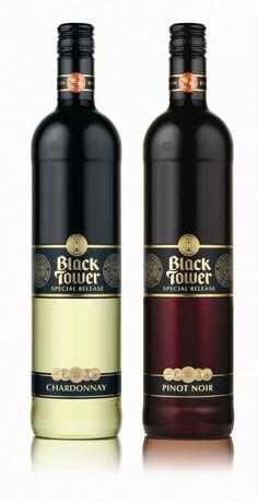 Black Tower Special #wine #packaging #design// best wine.