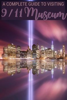 Visiting National September 11 Memorial and Museum is a must when in New York. Read this guide for everything you need to know to plan your visit to National September 11 Museum and National September 11 Memorial, with tips on how to get your tickets, skip the line and make the most of your visit | National September 11 Memorial and Museum | #newyork #travelhacks via @clautavani