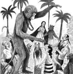 Rama's Journey - Carol Liddiment #ramasjourney #childrensbook #illustration #blackandwhite #carolliddiment