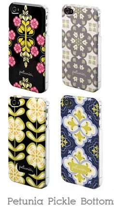 Petunia Pickle Bottom iPhone 4 cases, CUTE! Want one when I get my iphone.