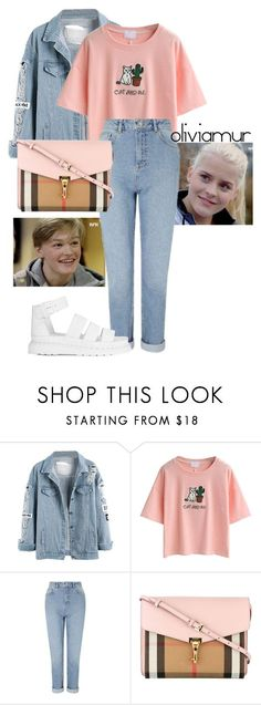 """""""Date Vilde & Magnus p.1"""" featuring WithChic, Miss Selfridge, Burberry, Dr. Martens, Pink, tumblr, magnus, skam and vilde 