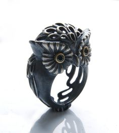 Owl Ring #owl #ring #jewelry