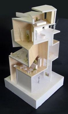 Model for Gallery S by Akihisa Hirata Architecture Office Next generation architects Architecture Wallpaper Magazine Model Architecture, Maquette Architecture, Architecture Office, Concept Architecture, Amazing Architecture, Office Buildings, Chinese Architecture, Architecture Portfolio, Futuristic Architecture