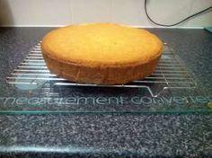 10 inch round tin sponge cake