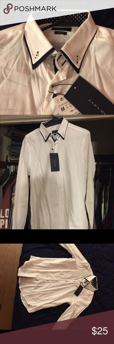 Zara men's shirt Brand new, never been worn. With tags Zara Shirts Dress Shirts