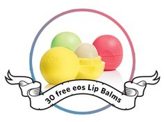 You Brew My Tea: *GIVEAWAY* 30 FREE EOS Lip Balms