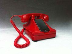 Hotline iRetrofone for the iPhone 4S by iRetrofone on Etsy, $200.00