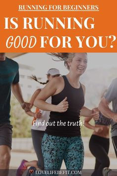Is running good for you? What about your heart and does it damage your knees? Running strengthens joints, improves your moods and helps you lose weight. Interval Running, Running Workouts, Running Gear, Learn To Run, How To Start Running, Running Training Programs, Beginner Runner Tips, Long Distance Running Tips, Benefits Of Running