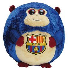 Peluche Futbol Club Barcelona Monkey Large - Bazartextil.com