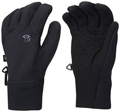 Damen Mountain Hardwear Damen Power Stretch Stimulus Handschuhe Schwarz Sport Outdoor