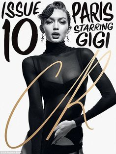All in the family: Her sister, Gigi Hadid, also gets a cover of the high-fashion publication