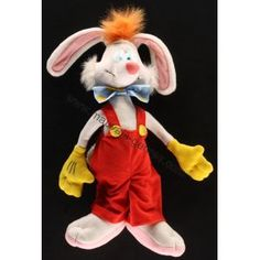 Roger Rabbit plush...not fair I wasn't given one, but the sister was.