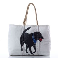 America's Favorite Dog is a Sea Bags favorite too! Handmade in Maine on recycled sails. #seabags