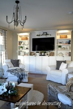 Happy Thursday, friends! I wanted to share a little bit more about a project we did in our great room before Christmas .... For sev...