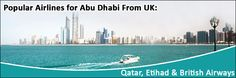 Popular Airlines for Air Tickets to Abu Dhabi from Heathrow