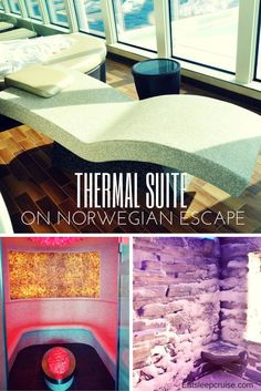 Thermal Suite on Norwegian Escape Review complete with plenty of photos including the snow cave!