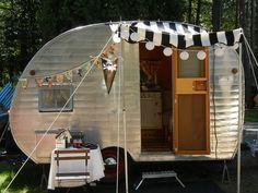 Northern Indiana Vintage Camper Rally 2012