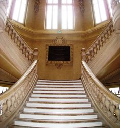 Beautiful+staircases   ... we were) to walk up the beautiful staircase of the Hotel de Ville