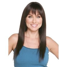 Lina by Pierre Wigs - Human Hair(100% Remi), Monofilament   Overstock.com Shopping - The Best Deals on Hair Extensions & Wigs