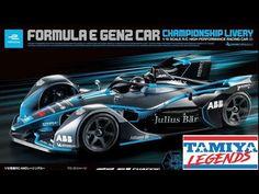Formula E, Tamiya, Racing, Car, Running, Automobile, Auto Racing, Autos, Cars