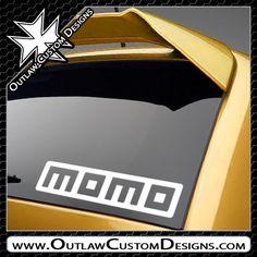 Momo - Name Logo (Box) - Outlaw Custom Designs, LLC