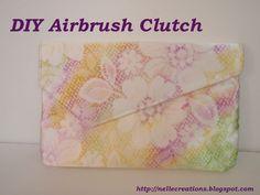 DIY Airbrushing    http://nellecreations.blogspot.com