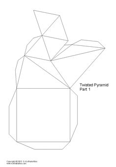pirámide torcida