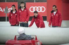 Entrega Audi FCB. Foto Claudio Chaves  #pique #messi
