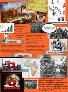 See the Glog! Industrial Revolution and Imperialism: imperialism, industrial, revolution High School Activities, History Activities, Homeschool High School, Homeschooling, 8th Grade History, High School History, Teaching Us History, History Teachers, Modern History