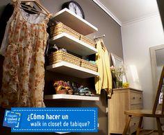 Los walk in closet son el oasis de todo amante del orden y la moda, y gracias a este Hágalo Usted Mismo podrás fabricar el tuyo. #HágaloUstedMismo #HUM