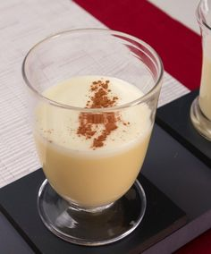 With all the worries about raw eggs, this eggnog recipe surfaced. I started making it such a long time ago that my recipe card is browned with age. It is the best eggnog I have had, so I never made another recipe. Holiday Eggnog Makes 16 cups 12 eggs 1 Christmas Drinks, Holiday Drinks, Sweets Recipes, Egg Recipes, Recipies, Desserts, Dukan Diet Attack Phase, Ponche Navideno, Dukan Diet Recipes