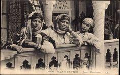 Ansichtskarte / Postkarte Maghreb, Scènes et Types, Jeunes Musulmanes, Levy & Fils L.L., Paris 6156