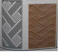 Knitting Machine Patterns, Knitting Paterns, Knitting Gauge, Cable Knitting, Knitting Charts, Knitting Stitches, Knit Patterns, Stitch Patterns, Sewing Patterns