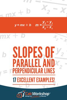 Determine if two lines are parallel or perpendicular by calculating their slope. And compare equations of lines and identify if the lines are parallel, perpendicular or neither. Algebra 2 Help, Algebra 1, Calculus, Inverse Functions, Linear Function, Systems Of Equations, Solving Equations, Teaching Math, Maths