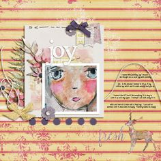 Joy - MOC4 - Day3 - Technique/Font Spacing-Amy Wolff Renewal: Papers, Elements http://the-lilypad.com/store/Renewal-Paper-Pack.html http://the-lilypad.com/store/Renewal-Element-Pack.html Birgit Kerr Design | Finding My Way - alpha Font: DJB Messy Amanda Goes Bold
