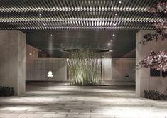 The Puyu Hotel Wuhan photos) Porte Cochere, Chinese Architecture, Architecture Design, Gate Way, Lobby Reception, Concrete Driveways, Tropical Style, Entrance Gates, Wuhan