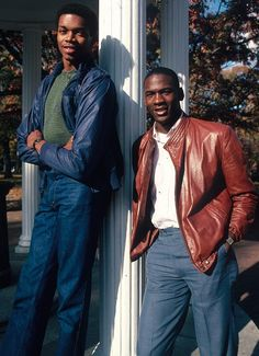 Michael Jordan stands with North Carolina teammate Sam Perkins in November The Tar Heels' star duo combined for points per game in the season. Jordan 23, Kobe Bryant Michael Jordan, Jeffrey Jordan, Michael Jordan Basketball, Dear Basketball, Street Basketball, Basketball Legends, College Basketball, Basketball Players