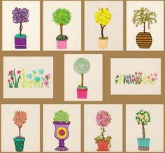 BFC1645 Gardening Quilt Collection - The Arboretum