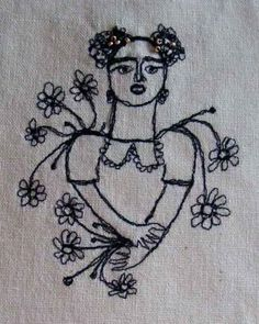 embroidery portraits - Google Search